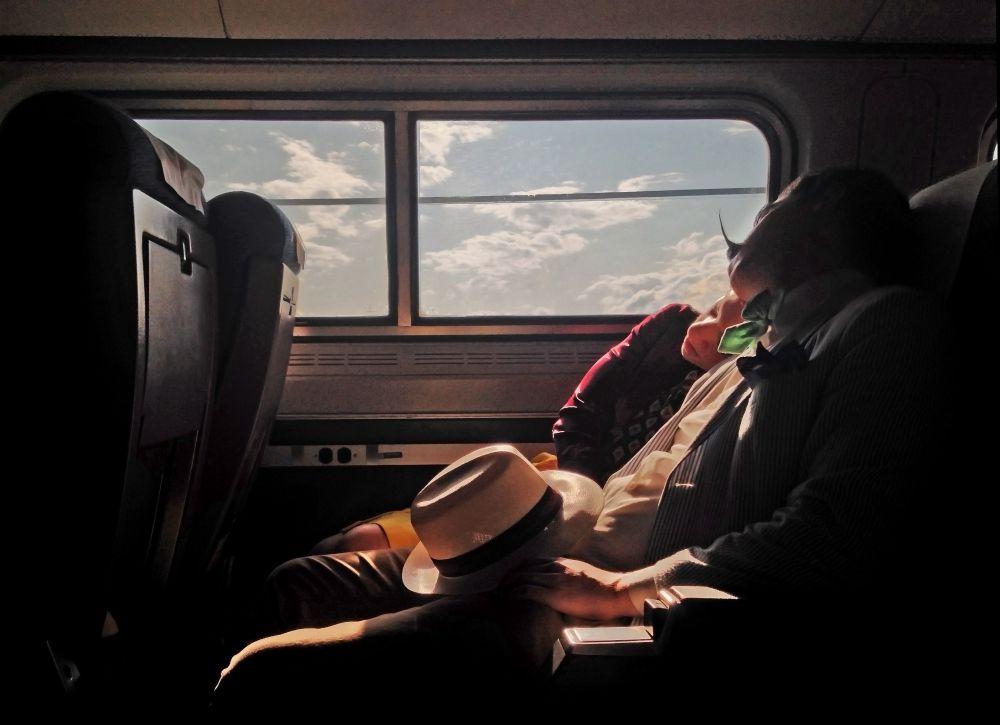 3-е место в номинации «Фотограф года» у Ивонны Лу из США. Ивонна родом из Тайваня, занимается художественной фотографией в Нью-Йорке. По ее мнению, фотография позволяет «запечатлеть уникальные и порой удивительные моменты во время путешествий». Снимок был сделан по пути в Нью-Йорк.