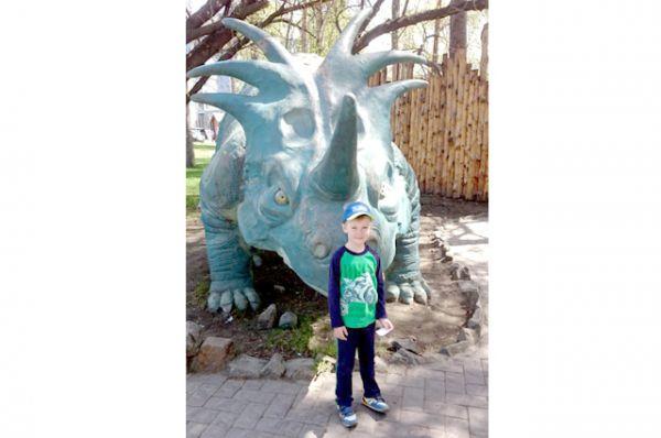 Участник №1 - Арсений Сафонов, 5 лет