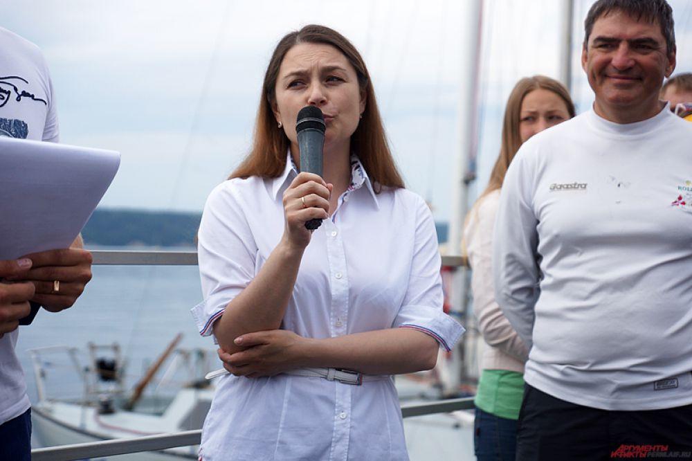 Директор санатория «Демидково» Елена Гринько.