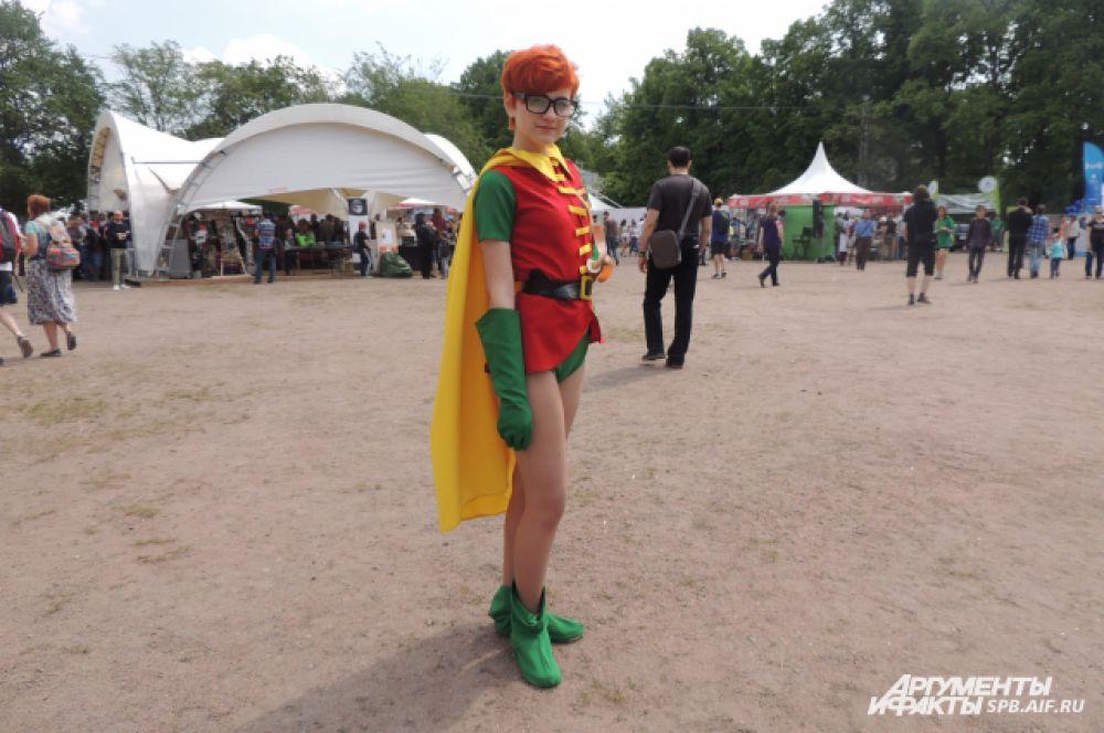 Многие приходили в костюмах любимых героев.