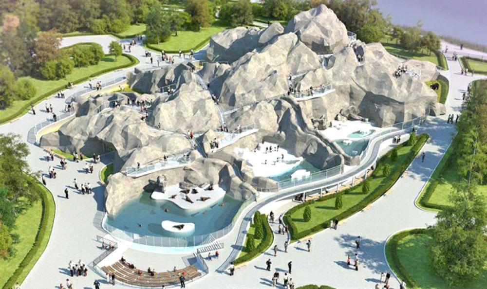 Один из предыдущих проектов реконструкции - «Волшебная гора».