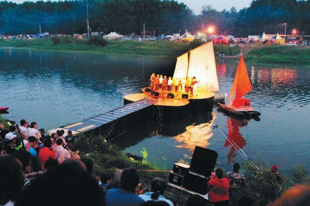 Грушинский фестиваль, архивное фото