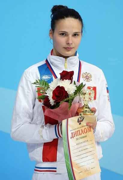 Мария Полякова завоевала золотую медаль в соревнованиях по прыжкам в воду. Спортсменка одержала победу на метровом трамплине, набрав по сумме попыток 419.45 баллов. Второе место заняла Луиза Ставчински из Германии (392,20). Бронзовую медаль завоевала украинская спортсменка Диана Шелестюк (388,45).