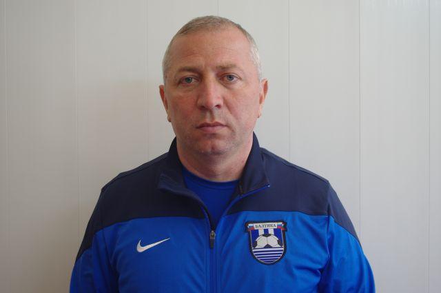 Главный тренер «Балтики» Хазрет Дышеков.