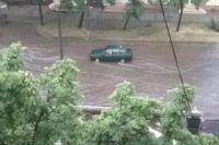 Потоп на дорогах в Кривом Роге