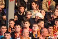 Александра Захарова на матче «Арсенал» - «Торпедо» в ФНЛ.