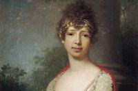 Портрет Марии Павловны в молодости работы В. Л. Боровиковского