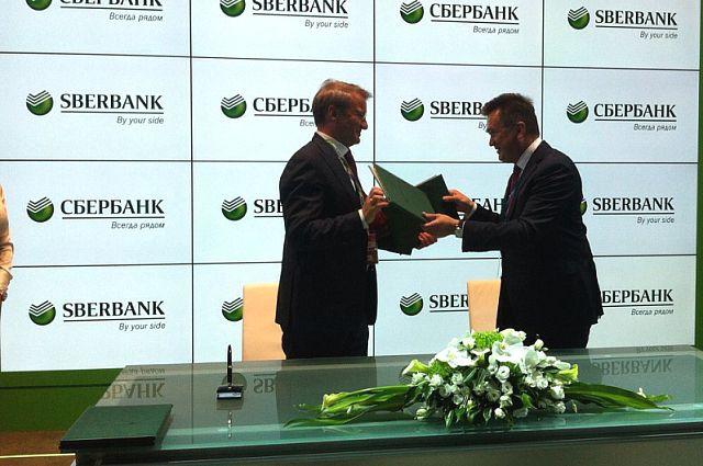 Соглашение подписали глава Сбербанка и губернатор Приморья.