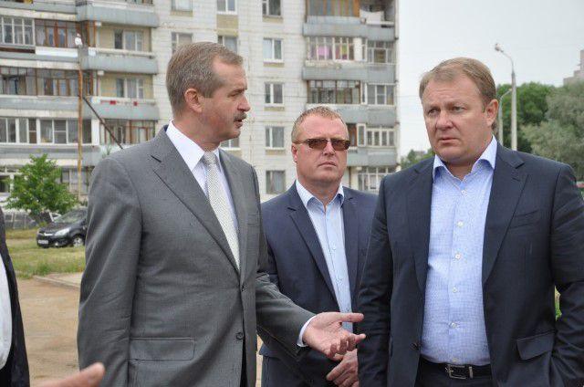 Строительство детсадов, которое недавно инспектировал председатель областного правительства Александр Князьков, теперь будет вестись и на федеральные средства.
