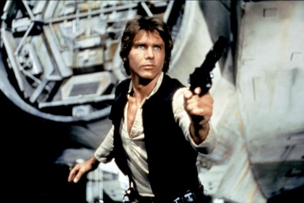 На третьем месте - персонаж киносаги «Звездные войны» Хан Соло, роль которого также играет Харрисон Форд.