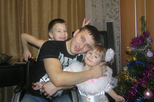 Дружная семья Пономаренко.