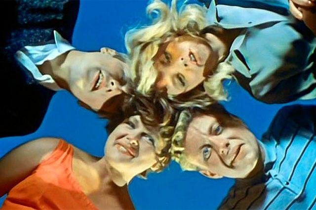 Кадр из фильма «Три плюс два», 1963 г.