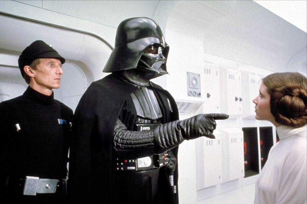 Космический злодей Дарт Вейдер из «Звездных войн» – девятый.