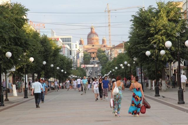 Современная улица Московская дает слабое представление о том, какой Пенза была раньше.