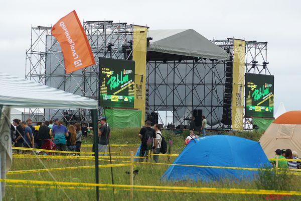 Главная сцена фестиваля.