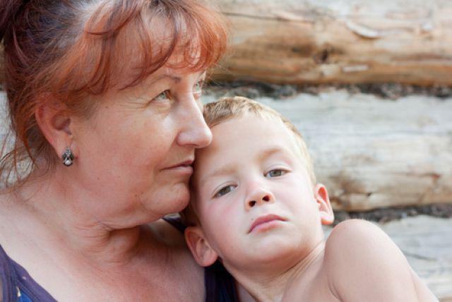 Русское бабушка и внук фото 735-851