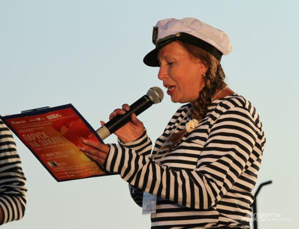 Художественный руководитель фестиваля «Тайны горы Крестовой» Любовь Зайцева