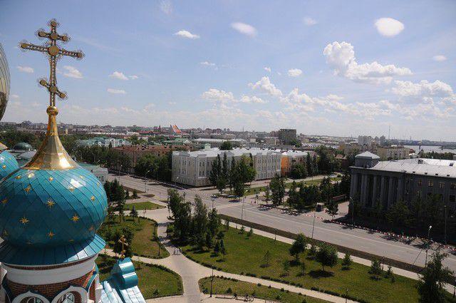 В следующем году Омск отпразднует своё 300-летие.