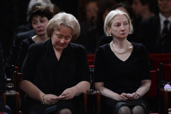 Супруга Евгения Примакова Ирина и дочь Нана.
