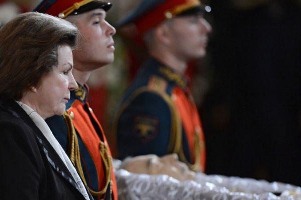 Летчик-космонавт Валентина Терешкова.