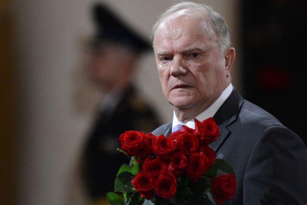 Председатель КПРФ Геннадий Зюганов.