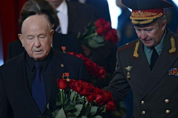 Летчик-космонавт Евгений Леонов.