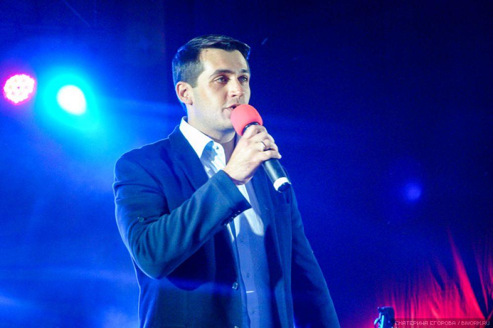 Горожан приветствовал депутат Госдумы от Алтайского края Александр Прокопьев