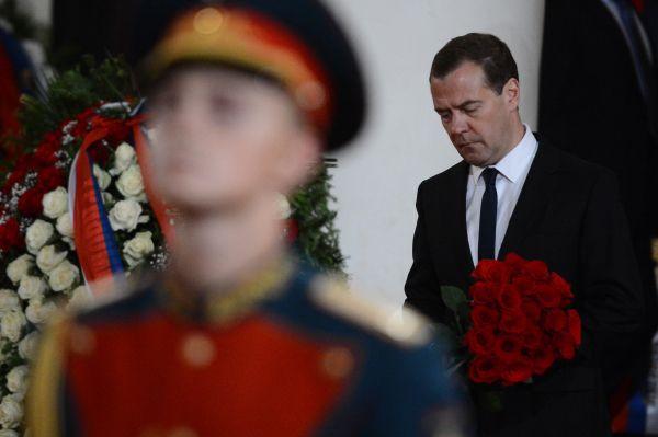 Председатель правительства России Дмитрий Медведев.