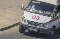 Три пассажира автобуса были госпитализированы.