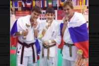 Приморские чемпионы по каратэ.
