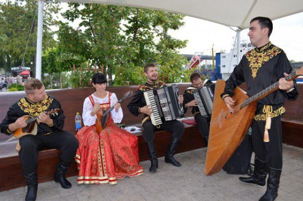 В Ростове прошёл традиционный праздник реки Дон.