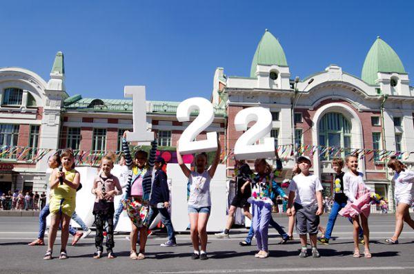 Громкая музыка и аплодисменты оповестили всех вокруг, что нашему любимому Новосибирску исполнилось 122 года!