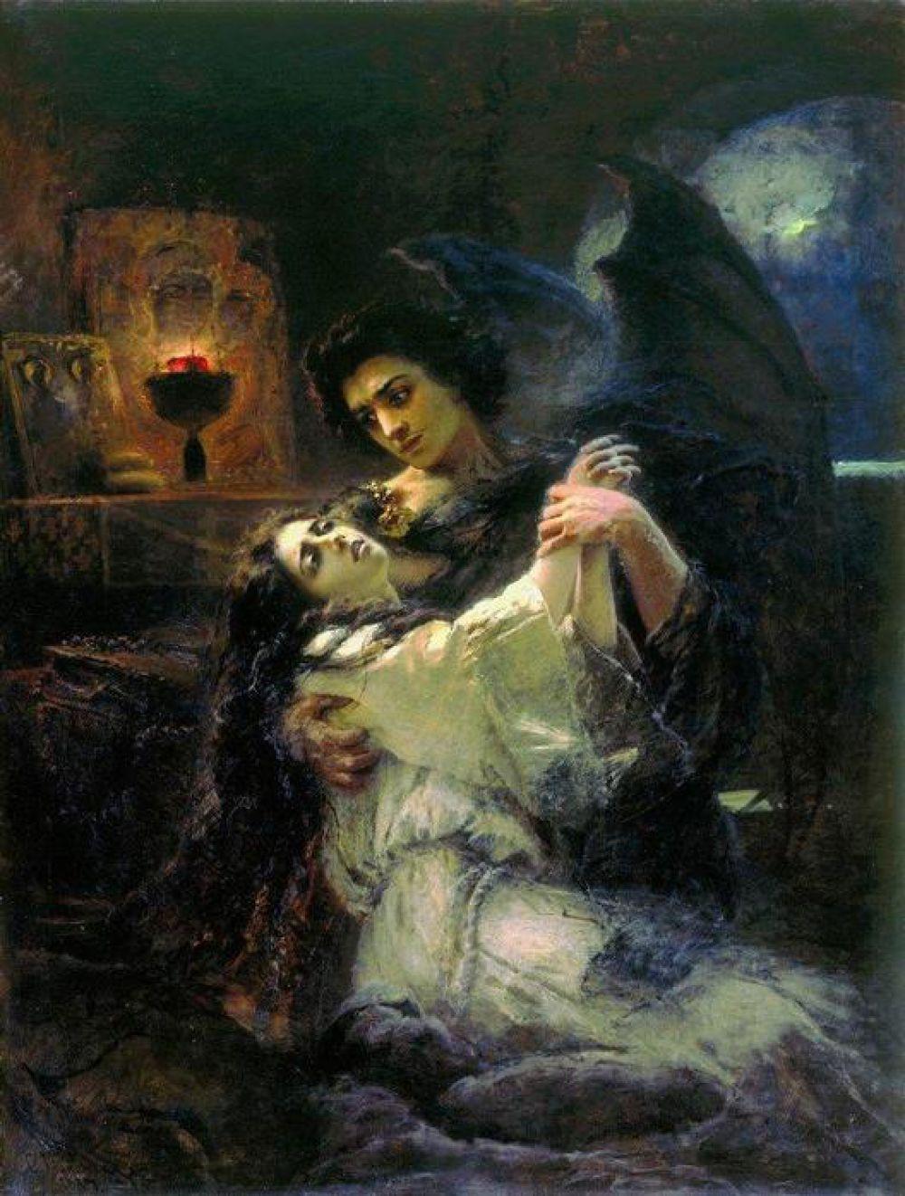 1880-ые раскрыли Маковского как автора портретов и создателя исторических полотен. На парижской Всемирной выставке 1889 года художник получил Большую золотую медаль за картины «Смерть Ивана Грозного» (1888), «Суд Париса» и «Демон и Тамара» (1889).