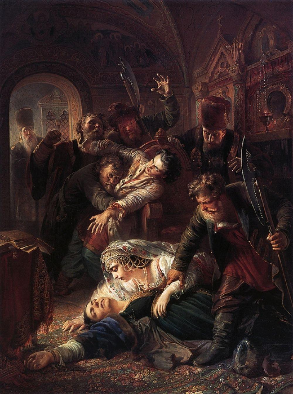 В 1958 году художник поступил в Императорскую академию художеств в Санкт-Петербурге. Академия выставила его работы «Исцеление слепых» (1860) и «Агенты Димитрия Самозванца убивают сына Бориса Годунова» (1862).