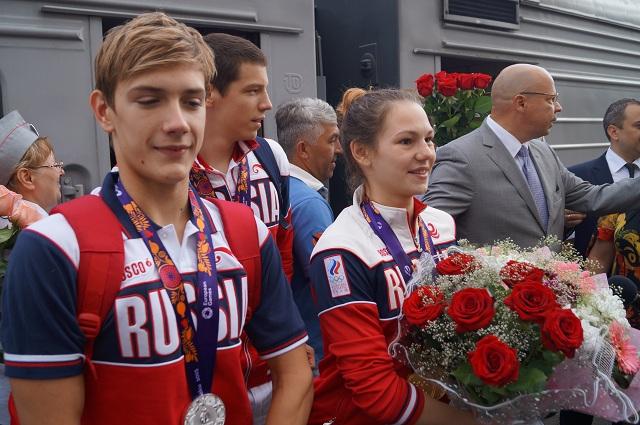 Асташкина, Ларин, Мордашев - Пенза встречает своих героев!