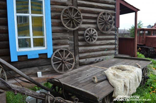 Чебулинский краеведческий музей.