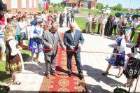Виктор Назаров открыла МФЦ в Азовском районе.