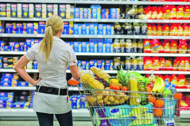 Изменение цен на продукты