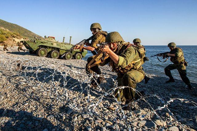 Морские пехотинцы - это воины трёх стихий: воды, земли и воздуха.