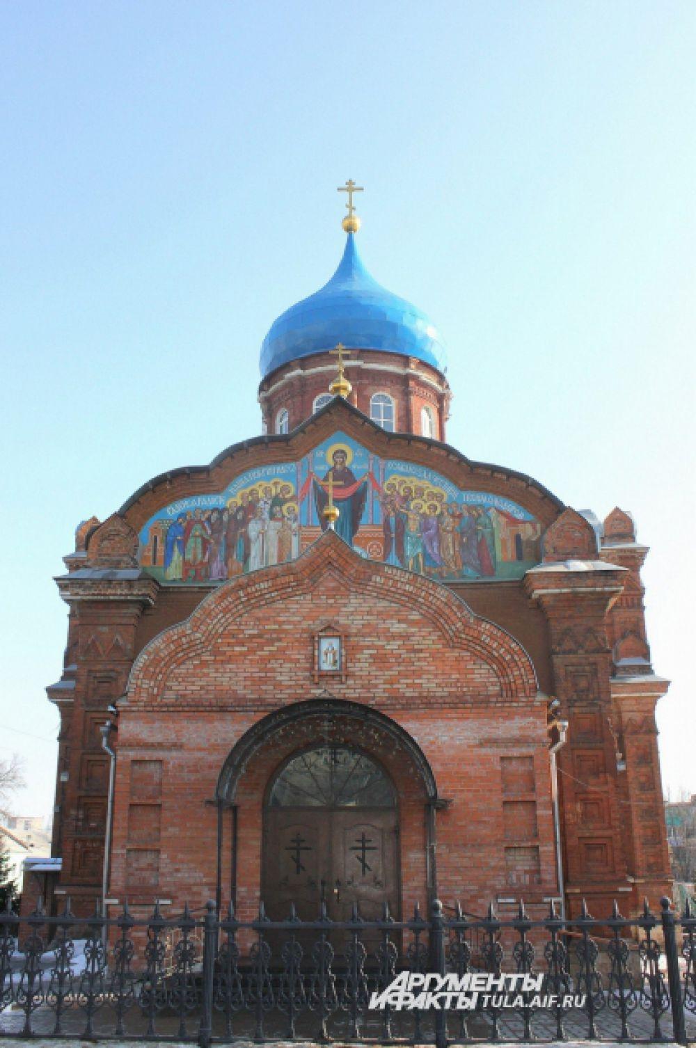 Покровский храм на ул. Калинина