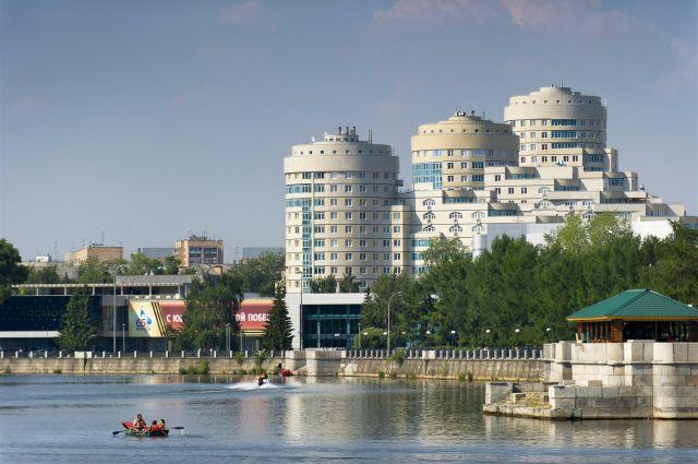 В Екатеринбурге появился новый парк. Правда, пока лишь на бумаге