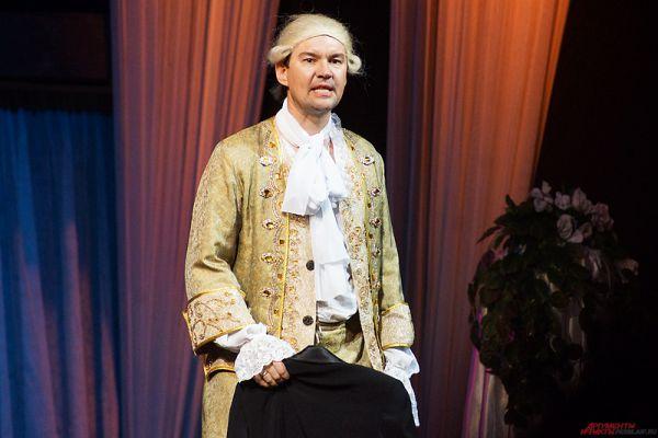 Действие представления происходило в Вене, в особняке графа Орловского.