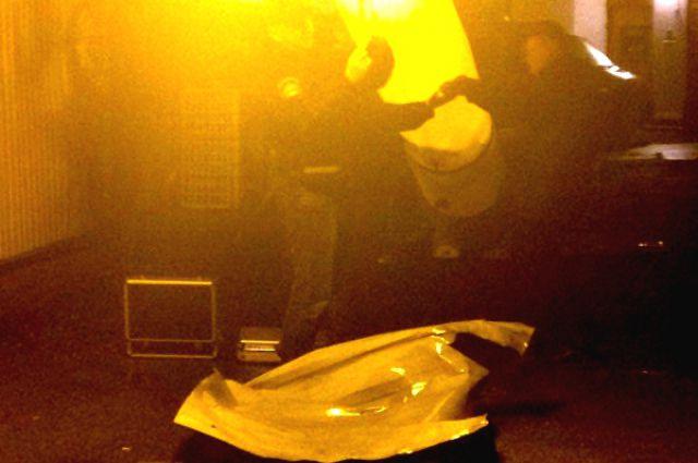 Ночной взрыв в Одессе