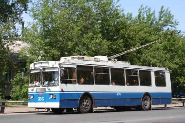 маршруты троллейбуса №7 и