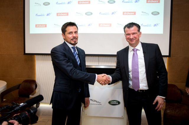 «Газпром нефть» и Jaguar Land Rover Россия объявили о партнерстве