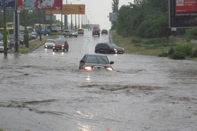 Дождь в Одессе