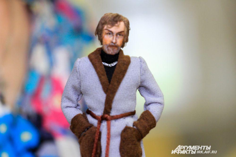 Камышев из фильма «Мой ласковый и нежный зверь» в исполнении Олега Янковского.