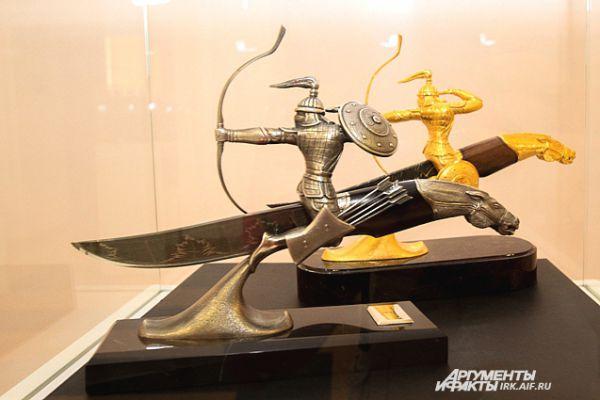 Работы мастера Жигжита – это возвращение к истокам традиционного бурятского оружейного дела.