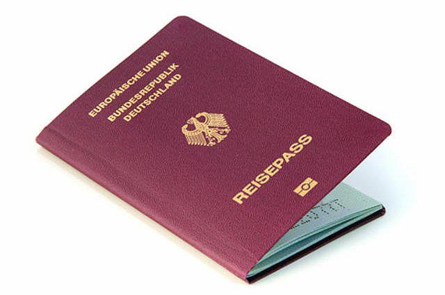 Паспорт гражданина ФРГ.