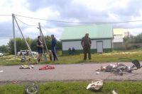 В аварии погибли женщина и двухмесячный ребёнок.